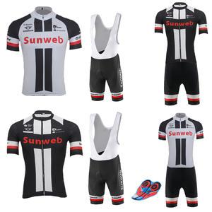 jersey set black white MTB gel pad Men short sleeve bike wear ropa ciclismo  Breathable d592c2315