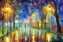 palette knife oil painting  modern oil painting canvas oil painting K362