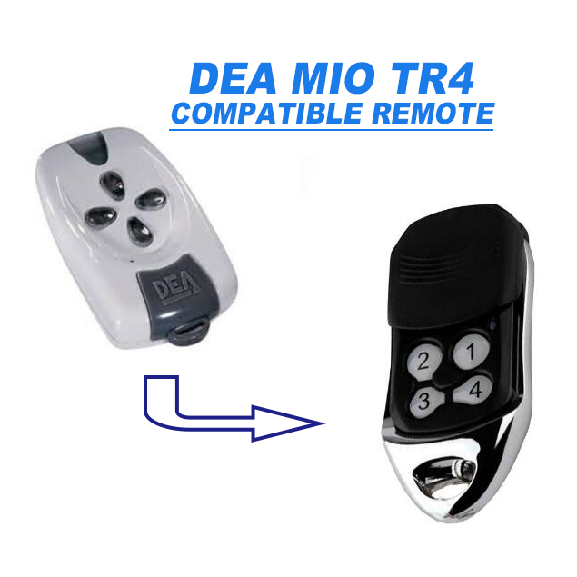 After market compact design durable use DEA TR4  rolling code  compatible tramsmitter  After market compact design durable use DEA TR4  rolling code  compatible tramsmitter