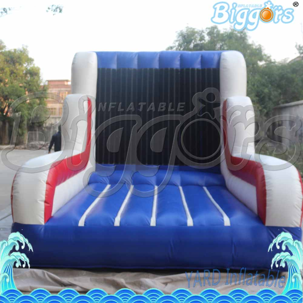 Sea Shipping Inflatable Climbing Wall Interactive Game Climb Game For Sale commercial sea inflatable blue water slide with pool and arch for kids
