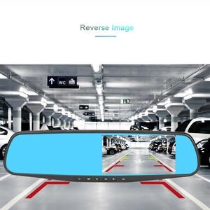 Image 4 - Addkey 車 dvr レーダー検出器ミラーカメラビデオレコーダー fhd 1080 1080p 自動カメラデュアルレンズのリアビューカメラ speedcam ダッシュカム