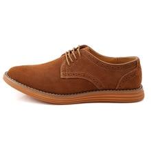 Мужские замшевые кожаные оксфорды синий коричневый, Черный Большие размеры 11, 12 мужчин Туфли без каблуков Бесплатная доставка Большая распродажа