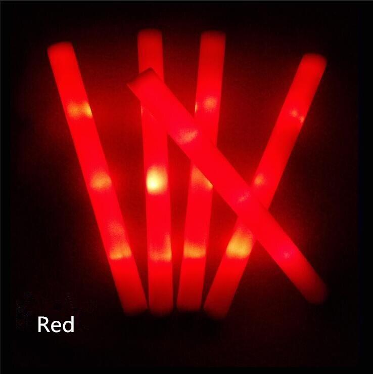 LED Spielzeug 10 PCS Licht Up Welt Cup Foam Sticks Glow Party Kant Vocal und Pfeife Konzert Wiederverwendbare Heißer Leucht spielzeug