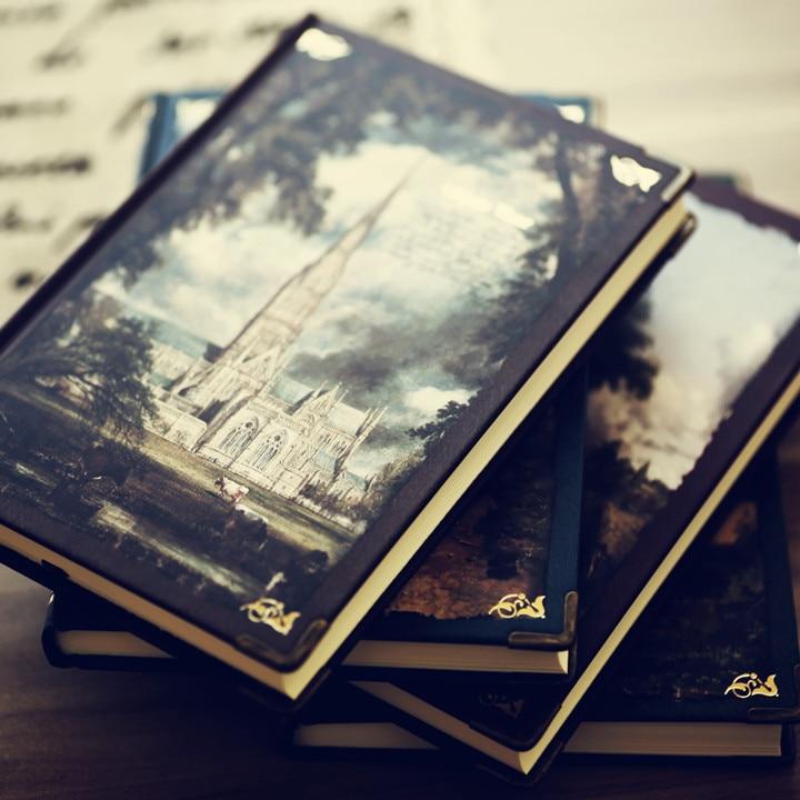 Lenwa John Constable Serie Hardcover Notebook Vintage Tagebuch Notepad Großbritannien Größte Beschreiben Landschaft Maler 1 StÜcke QualitäT Zuerst Office & School Supplies