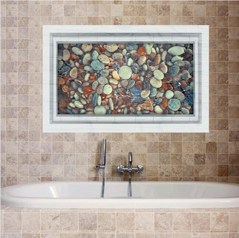 3d bathroom floor wall sticker for bathroom floor kitchen for Decoration 3d sol