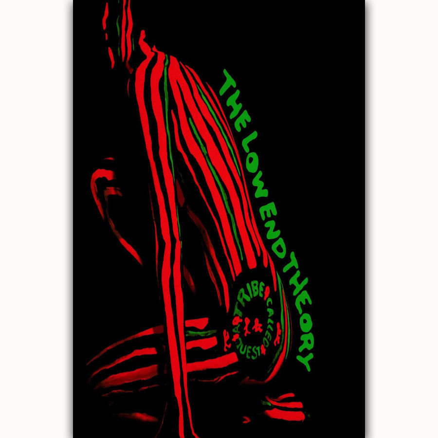 Hot American MC Music A Tribe Called Quest Group Art Poster 12x18 24x36 T-2543