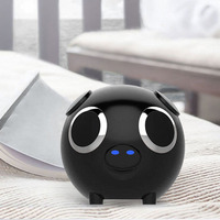 M20 Multifunction 2 In 1 Cute Pig Animal Shape Bluetooth Speaker Portable Power Bank Loudspeaker FM