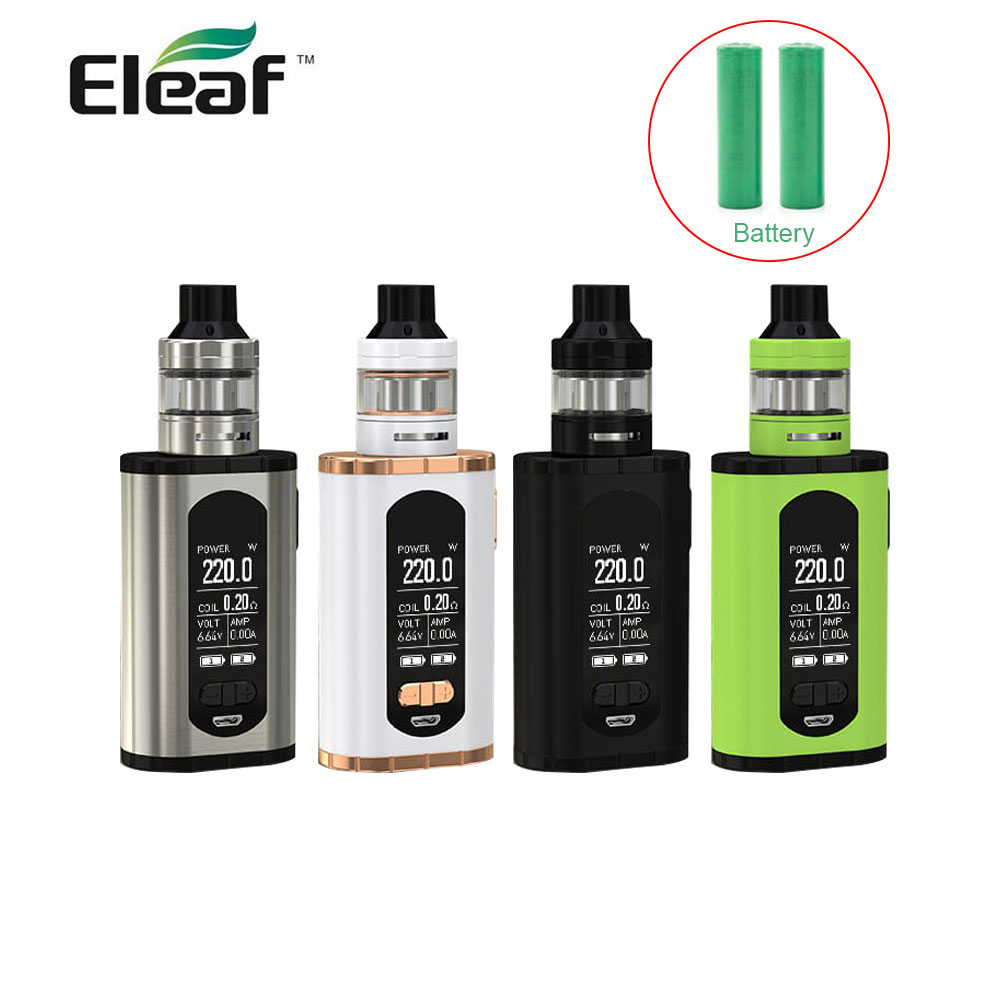 Original Eleaf Invoke with ELLO T Full Kit with 18650 battery 220W with HW3/HW4 coil max 2ml/4ml tank with 1.3 inch e-CigaretteOriginal Eleaf Invoke with ELLO T Full Kit with 18650 battery 220W with HW3/HW4 coil max 2ml/4ml tank with 1.3 inch e-Cigarette