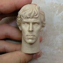 1/6 Benedict Cumberbatch Unpainted Head for 12 Bodies Figures