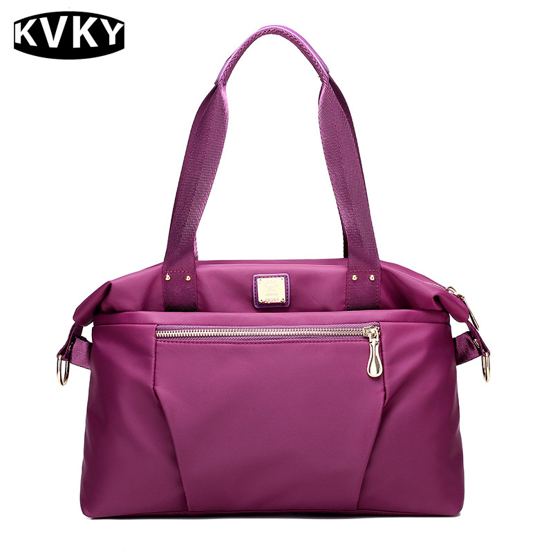 KVKY 2017 New Waterproof Nylon Bag Women Shoulder Bags For Women Handbags Large Capacity Casual Messenger Bags Saca A Main WH530 2016 autumn and winter new casual waterproof nylon shell bag soft bag portable women shouid bags dd5023