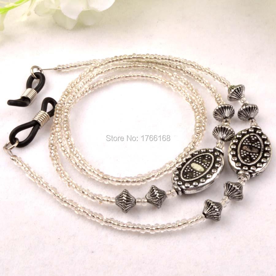 825f5a0c552370 Effacer perles lunettes lunettes de soleil chaîne cordons cordon corde  titulaire lunettes lunettes Anti - slip