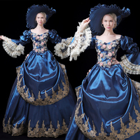 18th Century Rococo Gothic Marie Antoinette Victorian Ball Gown Renaissance Dress