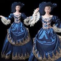18th Century Rococo Gothic Marie Antoinette Victorian Ball Gown Renaissance Dress