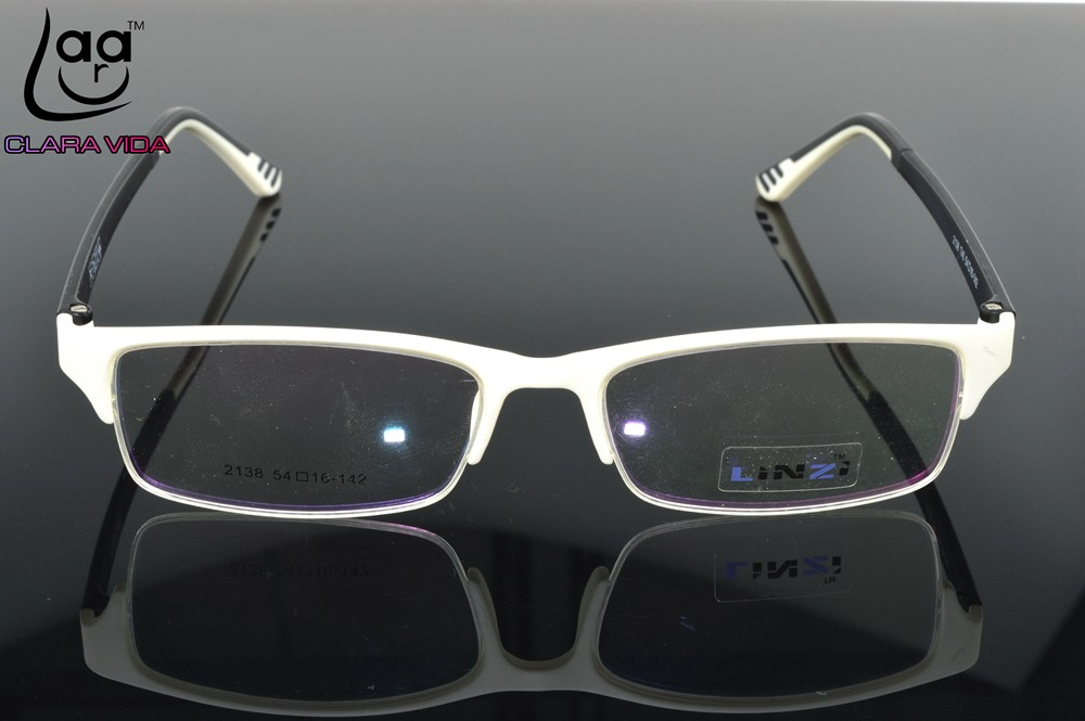 f120d9648e5 ONLY 7G   TR90 Ultra Light Designer Glasses Frame white Custom Made ...