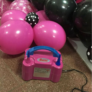 Image 5 - Double Hole Portable air compressor 220v AC Inflatable Electric Balloon Pump Air Balloon Pump Electric Balloon Inflator Pump