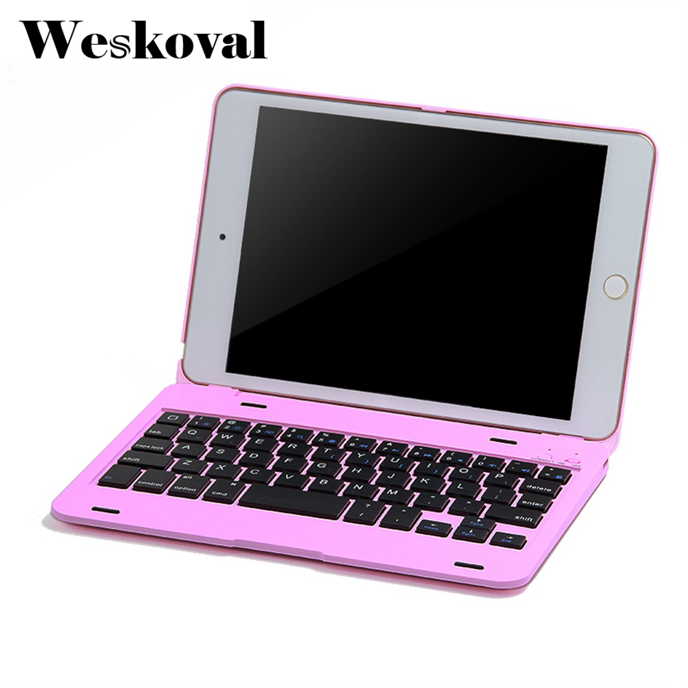 Keyboard For iPad Mini 4 7.9 inch Wireless Bluetooth Case For iPad Mini 4 Tablet Slim Flip Stand Cover Capa Fundas+Stylus for ipad mini 4 bluetooth 3 0 keyboard with slim case cover
