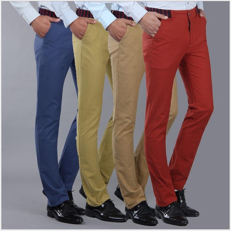 2015 Autumn High Quality Mens Joggers Cotton Men Pants Slim Feet Trousers Casual Pants Plus Size