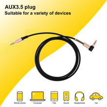 Audio Aux Cable 3.5mm to Jack Speaker Car Cord for Headphone iphone Samsung AUX