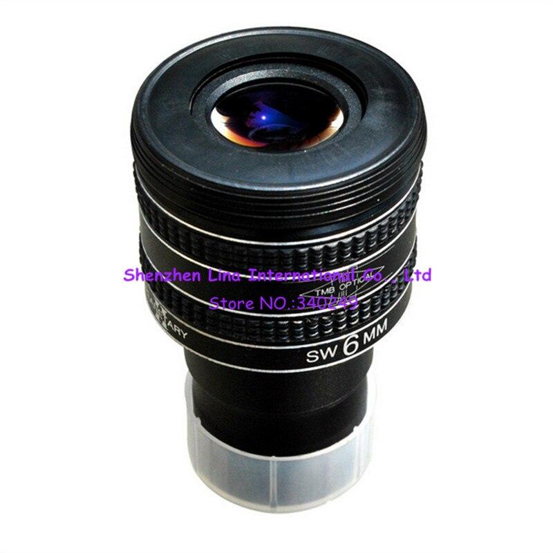 Burgess TMB 6mm oculaires 1.25 pouces télescope pour grand angle planétaire pour l'observation planétaire SW 6 MM TMB6MM