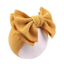Детская повязка на голову, повязка на голову для маленьких девочек, бандо для девочек, детские аксессуары для волос, детская чалма, банты, ис...