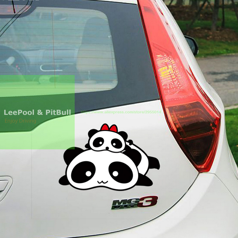 Car cover scratches car stickers scratch back bumper stickers panda car motorcycles decal styling accessories car cover scratches car stickers scratch back bumper stickers panda