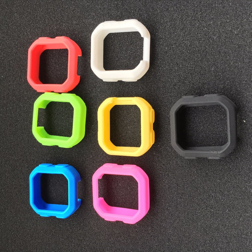 Bicycle Silicone Rubber shockproof Protect Cover Case For Garmin Edge 20/25 <font><b>Bike</b></font> Cycling <font><b>GPS</b></font> <font><b>Computer</b></font> Accessories image