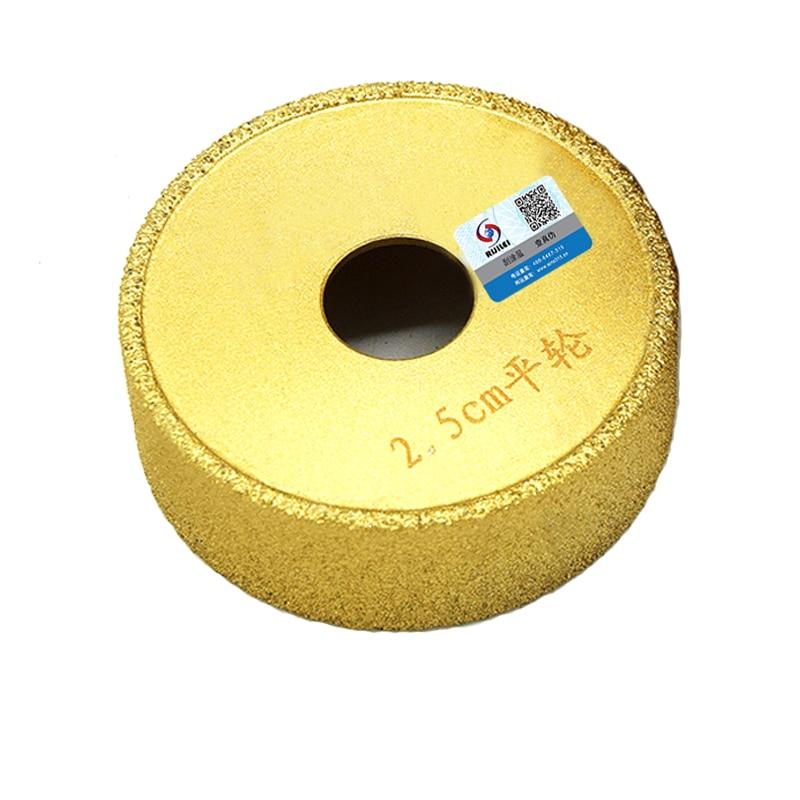RIJILEI 74mm Soldadura de diamantes Mármol Muela abrasiva Amoladora - Herramientas eléctricas - foto 2