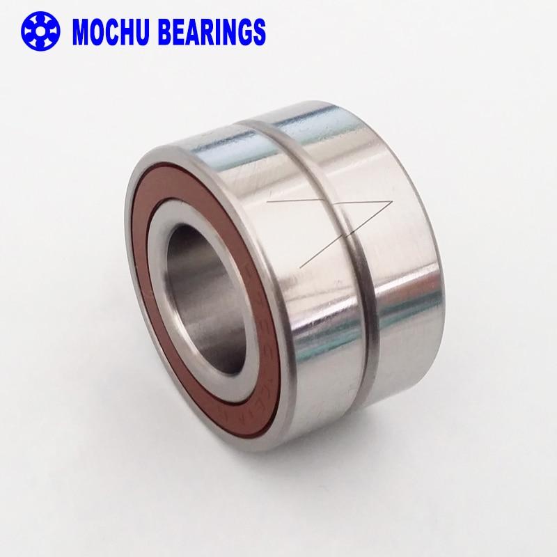 лучшая цена 1pair 7202 S7202ACE/P4A DBB 15x35x11 DB MOCHU Sealed Angular Contact Bearings Speed Spindle Bearings CNC ABEC-7
