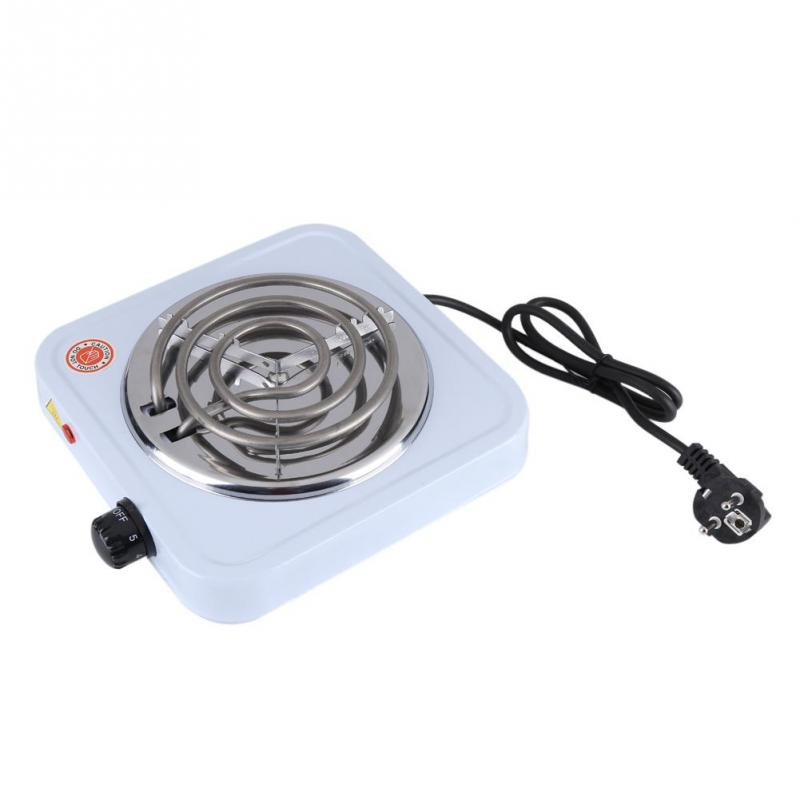 220V 1000W Electric Stove Iron Burner Kitchen Hot Plate Coffee Heater Hotplate Cooking Appliances