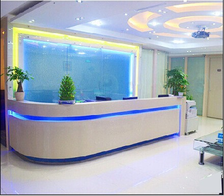 Office reception counter Marble Paint Stylish Minimalist Office Reception Desk Cashier Welcome Counter Curved Section 88 Aliexpress Paint Stylish Minimalist Office Reception Desk Cashier Welcome