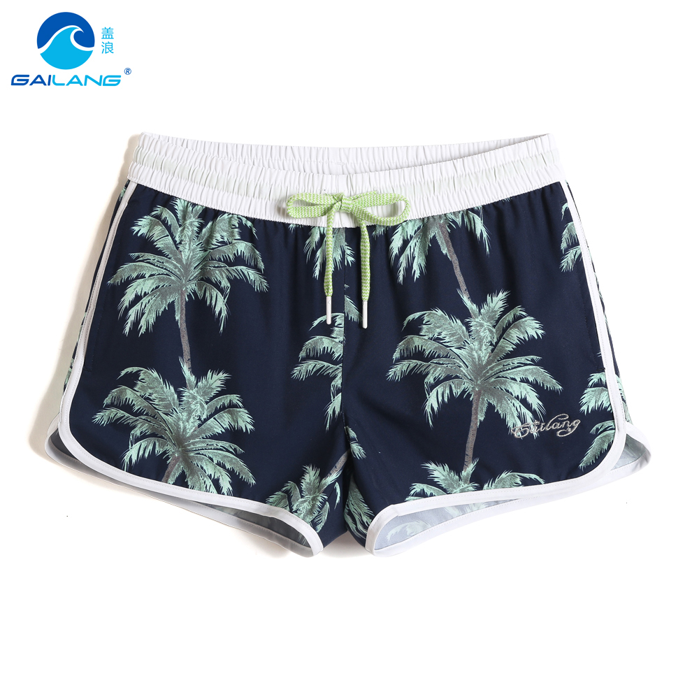 Swimming trunks for women swimsuit   Board     shorts   hawaiian quick dry surfing swimwear briefs joggers beach   shorts   mesh