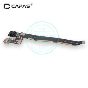 Image 3 - Разъем док станции для Oneplus 5 A5000, USB порт для зарядки, разъем для наушников, гибкий кабель, модуль, замена, ремонт, запасные части