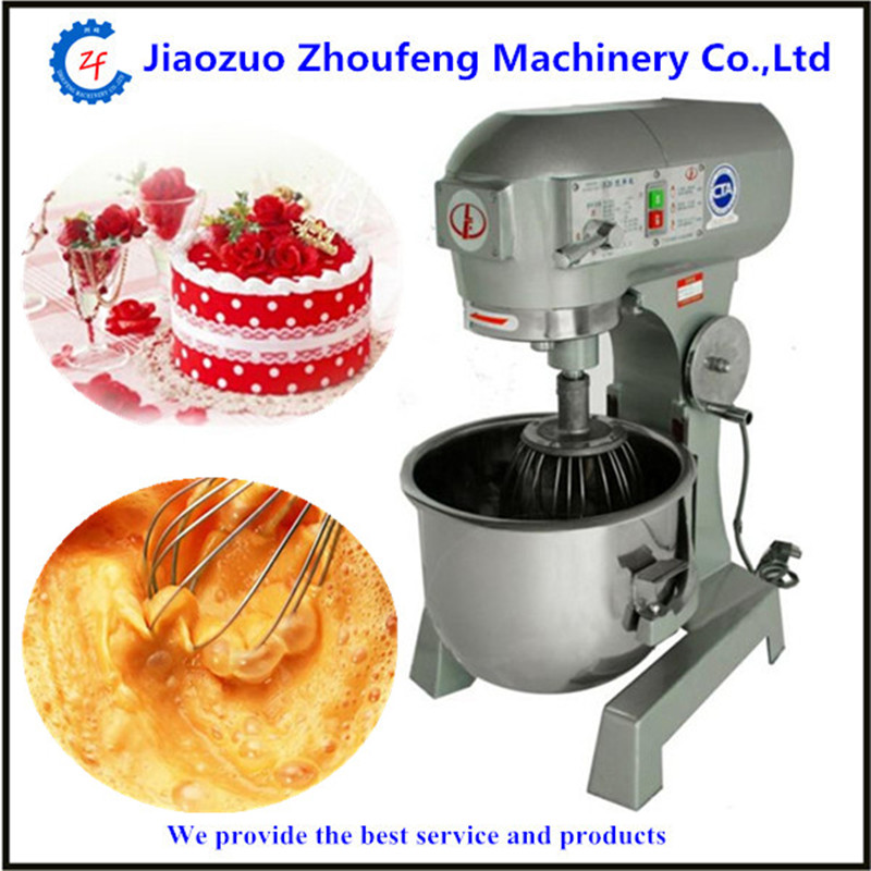 220v professional dough mixer electric flour eggs blender 20L milkshake beater kitchen food mixers for home
