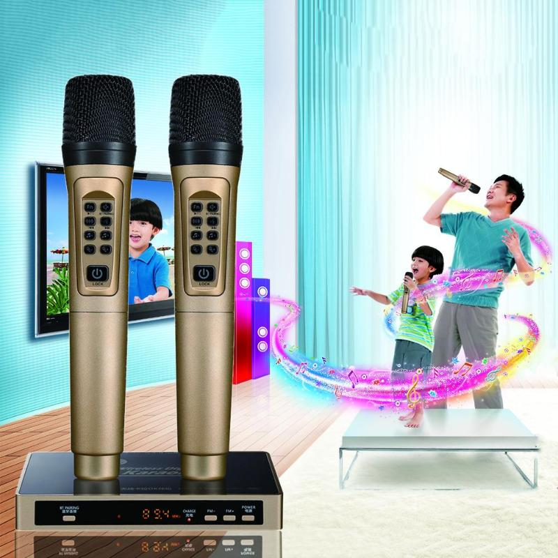 Smart Wireless Bluetooth Handheld Microphone KTV Mobile Player Speaker Record Music Party Meeting Player Top Quality Gifts