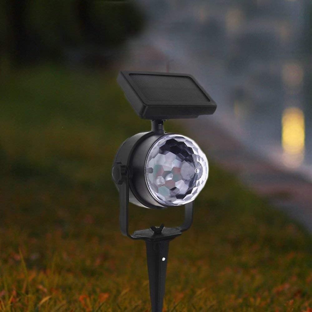 solares lâmpada de palco rotativo festa de