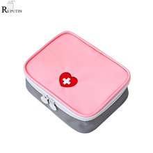 RUPUTIN Family First Aid Kit Portable Carry Medicine Package Travel Medical Supplies Organizer Bag Zipper Storage Bags