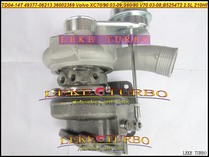 Free Ship Turbo TD04-14T 49377-06213 49377-06200 Turbocharger For VOLVO XC70 XC90 2003-09;S60 S80 V70 2003-08 B5254T2 2.5L 210HP снуд buff buff bu023ggrju47