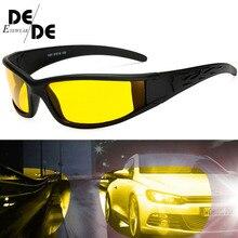 The New Men Polarized Glasses Car Driver Night Vision Goggles Anti-glare Polarizer Sunglasses Driving Sun