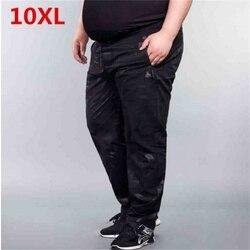 Мужские спортивные штаны, большие размеры 10XL 8XL 6XL, Осенние камуфляжные штаны для бега, фитнеса, бодибилдинга, тренажерных залов