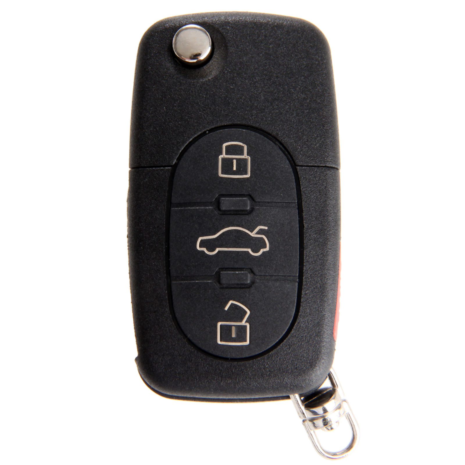4 Buttons Remote Flip Folding Key Shell Case For Audi A4 A6 A8 Quattro TT S4 S8 CR2032 Replacement Keyless Fob-in Car Key from Automobiles & Motorcycles
