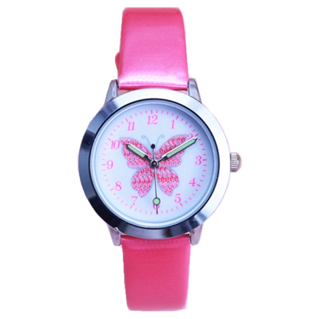 New arrived kids lovely animals simple design quartz watch boys and girls cute B