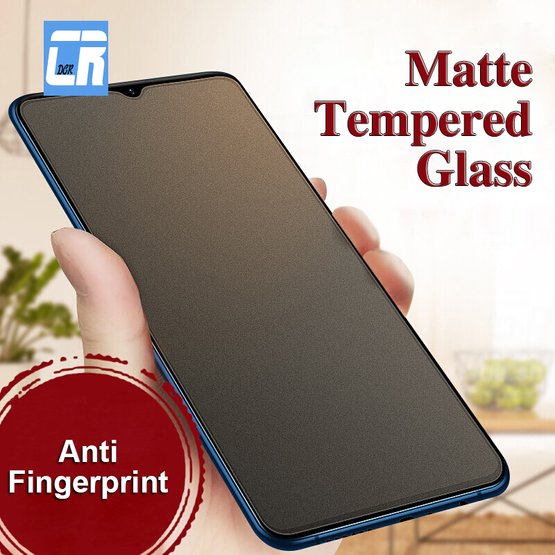 No Fingerprint  Matte Tempered Glass For OPPO R15 R9S F7 F5 F1S Y97 A59 A37 V11i V7 A73 A57 A77 Screen Protector Frosted Glass