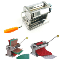 Multi function Craft Pasta Machine Polymer Clay Soft Metal Sheets Machine Rolling Dough Fimo Roller Dough Rolling With Handle