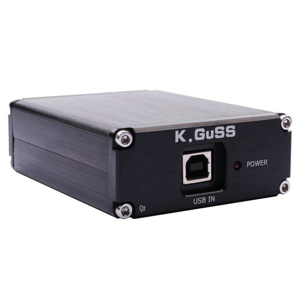 2018 New KGUSS Q2 Breeze Audio ESS ES9018K2M + AD823 + SA9023 USB DAC Decoder External Sound Card Amplifier Beyond ES9023 DAC
