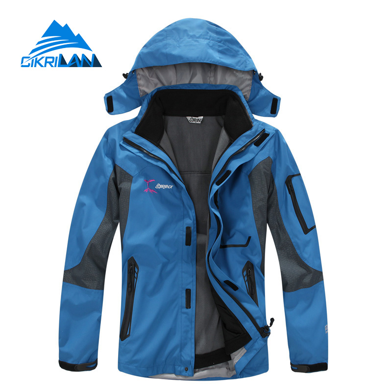 Hot Sale Climbing Trekking Sport Coat Outdoor Chaqueta Hombre Waterproof Jacket 3in1 Men Hiking Manteau Homme Camping Casaco hot sale camping climbing kids 3in1 outdoor sport waterproof jacket girls boys hiking coat ski casaco 8 16y child fleece liner