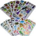 5 unids, BOHS Multi Patrones Animales Pegatinas de Dibujos Animados, Niños o Niñas Opcionales 14 cm * 6.8 cm
