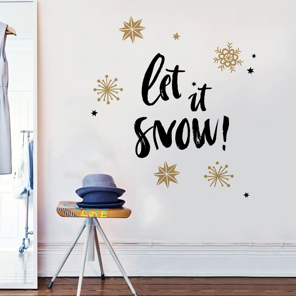 New Year 2019 Wall Stickers Decals Room Decoration 2019 ...