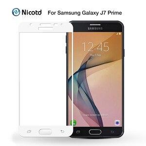 Image 5 - Protector de pantalla de cristal templado para Samsung Galaxy, Protector de pantalla de vidrio templado para Samsung Galaxy S6 S7 J2 J5 J7 Prime Note 4 Note 5 Galaxy A3 A5 A7 2016 2017