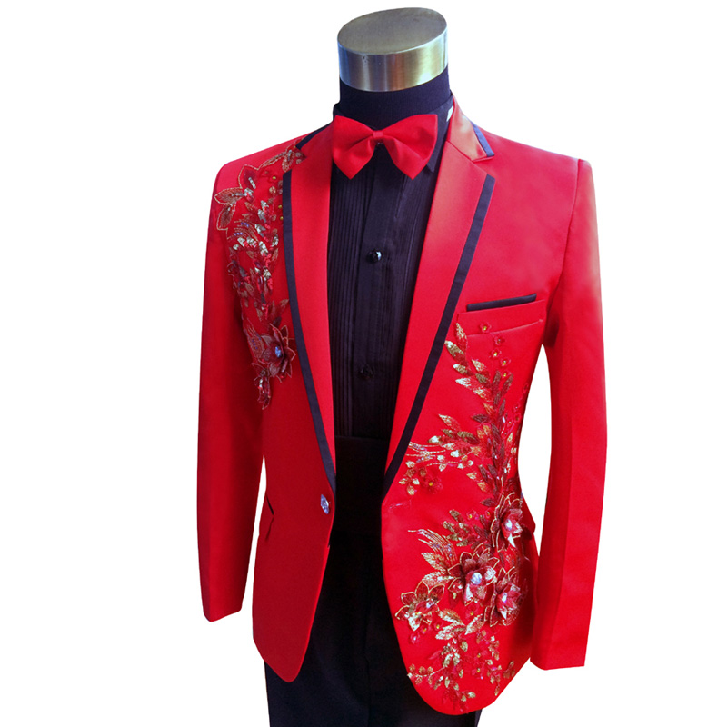 red prom suit jacket go suits