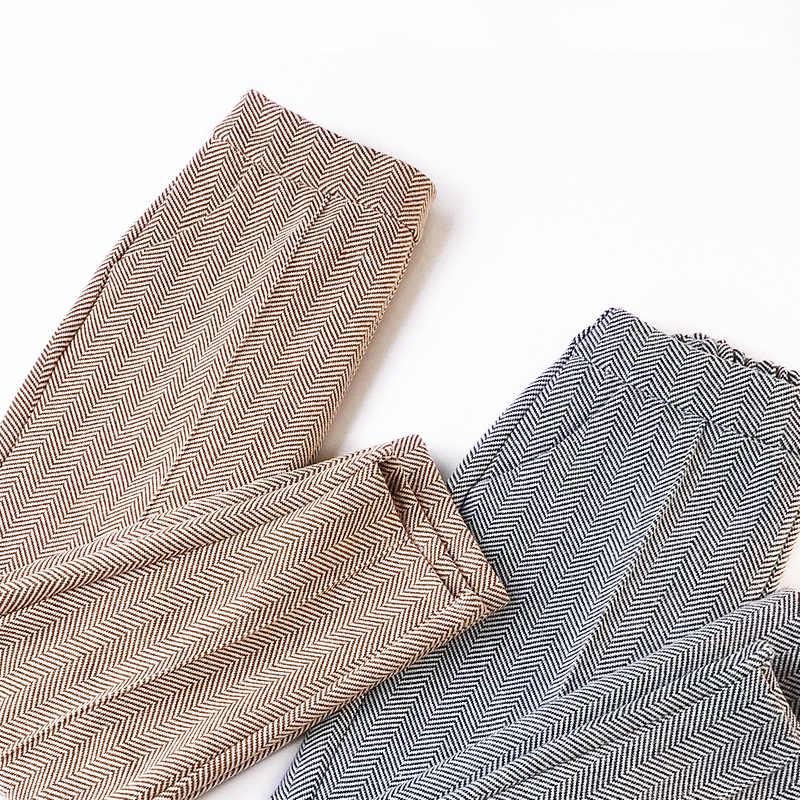 d90bfc44fb9 ... Wasteheart Autumn Gray Khaki Winter Pink Pleuche Harem Pants Ankle  Length Casual Women Pants Plus Size ...